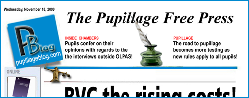 The Pupillage Blog Goes To Press!